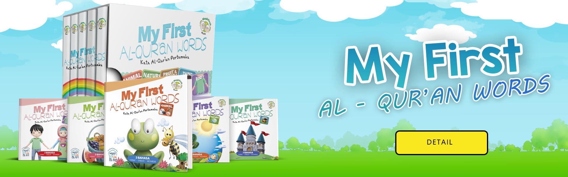 Jual Buku My First Alquran Words