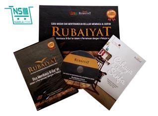 Buku Belajar Baca Al Quran Metode Rubaiyat
